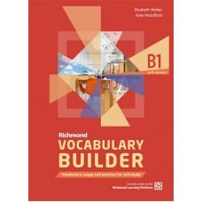 RICHMOND VOCABULARY BUILDER B1 SB