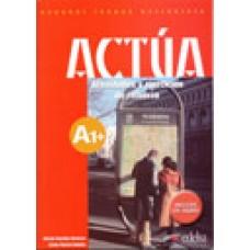 ACTÚA A1 ALUMNO + CD