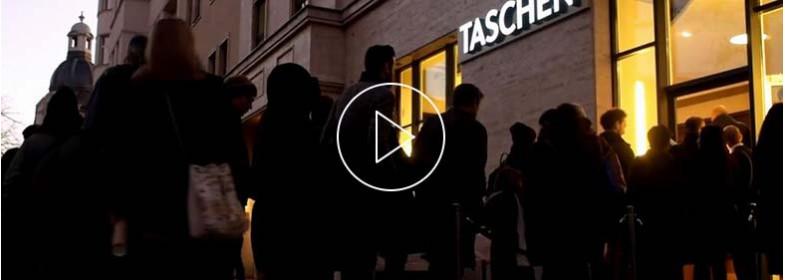 TASCHEN Store Berlin, weekend di apertura