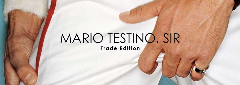 MARIO TESTINO. SIR - Trade edition